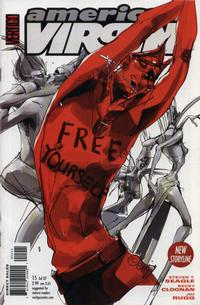 Cover Thumbnail for American Virgin (DC, 2006 series) #15