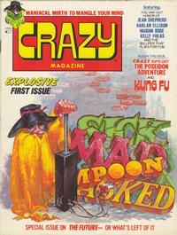 Cover Thumbnail for Crazy Magazine (Marvel, 1973 series) #1