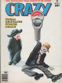 Cover Thumbnail for Crazy Magazine (Marvel, 1973 series) #21