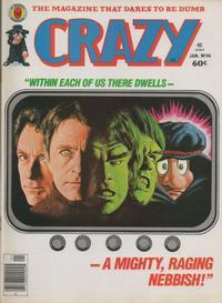 Cover Thumbnail for Crazy Magazine (Marvel, 1973 series) #46