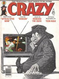 Cover Thumbnail for Crazy Magazine (Marvel, 1973 series) #63