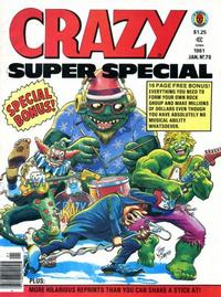 Cover Thumbnail for Crazy Magazine (Marvel, 1973 series) #70