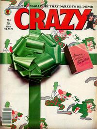 Cover Thumbnail for Crazy Magazine (Marvel, 1973 series) #71