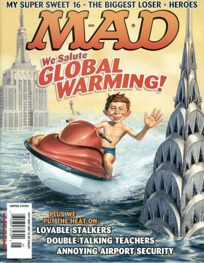 Cover for MAD (EC, 1952 series) #477