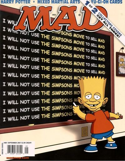 Cover for MAD (EC, 1952 series) #481