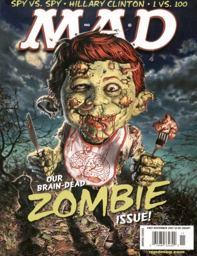 Cover for MAD (EC, 1952 series) #483