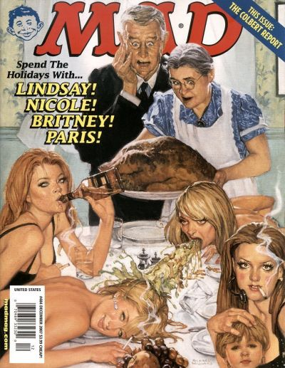 Cover for MAD (EC, 1952 series) #484