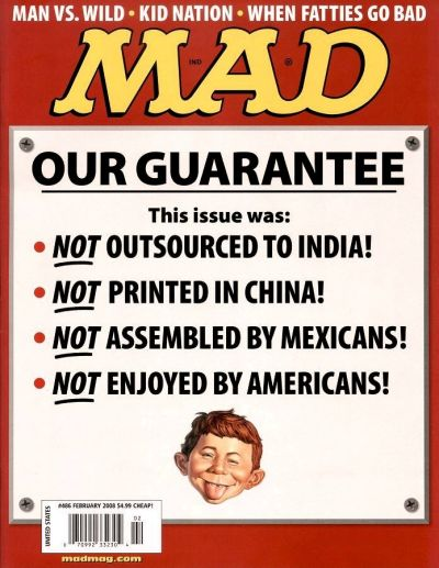 Cover for MAD (EC, 1952 series) #486