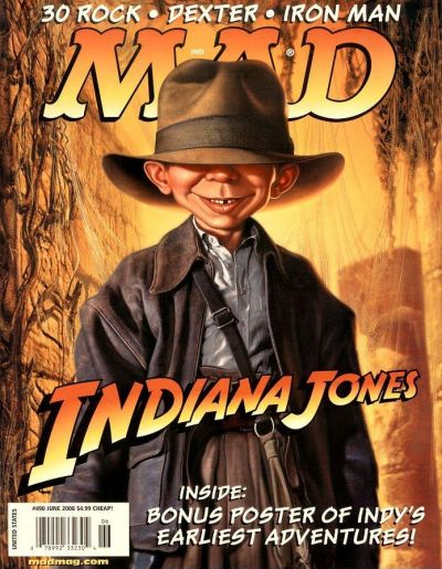 Cover for MAD (EC, 1952 series) #490