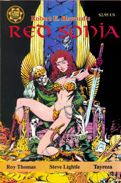 Cover for Red Sonja A Death in Scarlet (Cross Plains Comics, 1999 series)