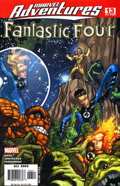 Cover for Marvel Adventures Fantastic Four (Marvel, 2005 series) #13