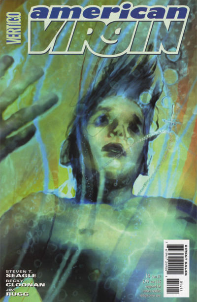 Cover for American Virgin (DC, 2006 series) #14
