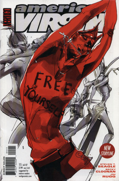 Cover for American Virgin (DC, 2006 series) #15