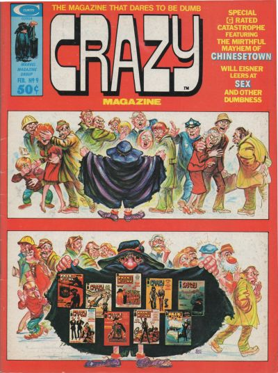 Cover for Crazy Magazine (Marvel, 1973 series) #9