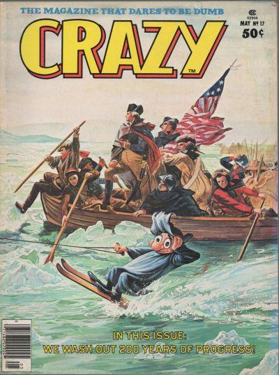 Cover for Crazy Magazine (Marvel, 1973 series) #17