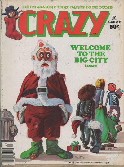 Cover for Crazy Magazine (Marvel, 1973 series) #23