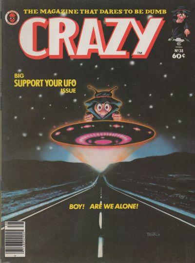 Cover for Crazy Magazine (Marvel, 1973 series) #38
