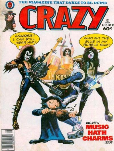 Cover for Crazy Magazine (Marvel, 1973 series) #41