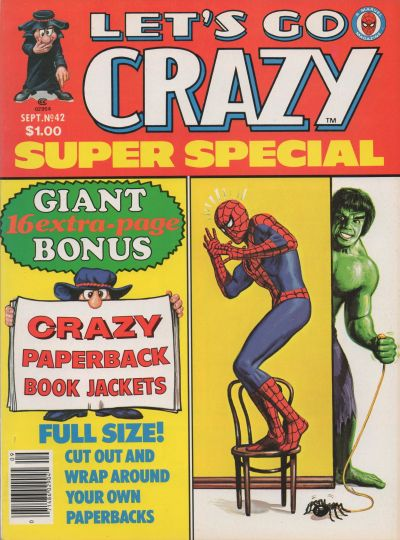 Cover for Crazy Magazine (Marvel, 1973 series) #42