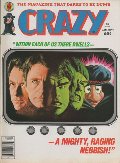 Cover for Crazy Magazine (Marvel, 1973 series) #46