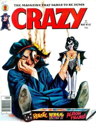 Cover for Crazy Magazine (Marvel, 1973 series) #62