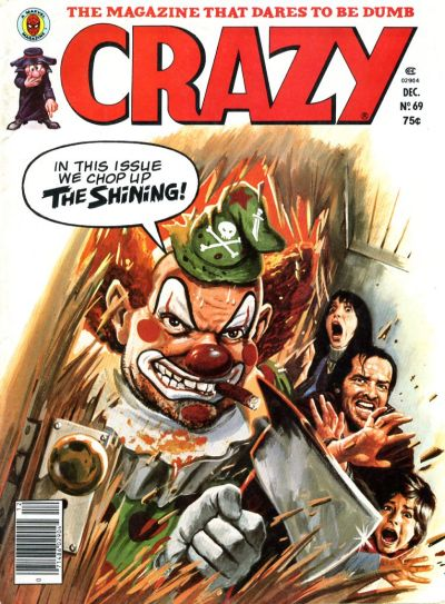 Cover for Crazy Magazine (Marvel, 1973 series) #69