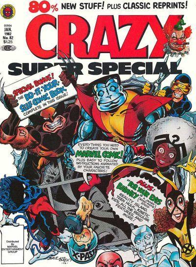 Cover for Crazy Magazine (Marvel, 1973 series) #82