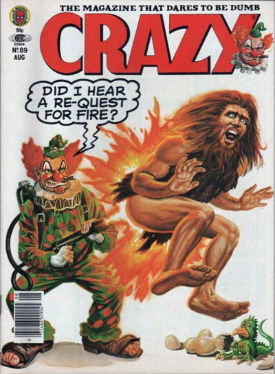Cover for Crazy Magazine (Marvel, 1973 series) #89