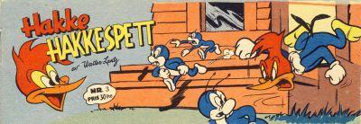 Cover for Hakke Hakkespett (Serieforlaget / Se-Bladene / Stabenfeldt, 1957 series) #3 [1957]