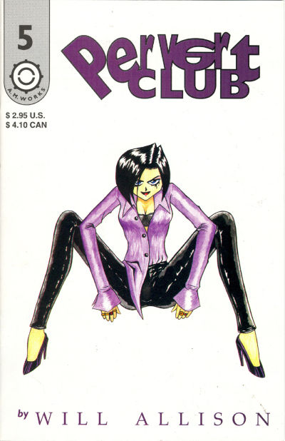 Cover for Pervert Club (A.M.Works, 1995 series) #5