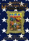 Cover Thumbnail for Marvel Masterworks: Golden Age U.S.A. Comics (2007 series) #1 (76) [Limited Variant Edition]