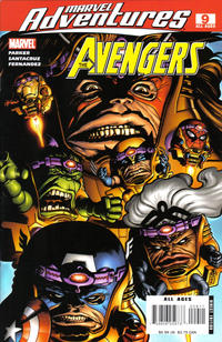 Cover Thumbnail for Marvel Adventures The Avengers (Marvel, 2006 series) #9