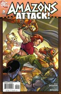 Cover Thumbnail for Amazons Attack (DC, 2007 series) #5