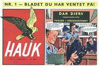Cover for Hauk (Serieforlaget / Se-Bladene / Stabenfeldt, 1955 series) #1/1955