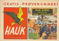 Cover Thumbnail for Hauk prøvenummer (Serieforlaget / Se-Bladene / Stabenfeldt, 1955 series)