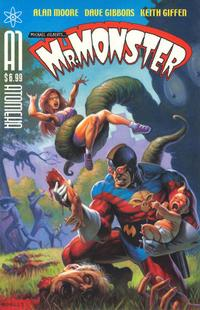 Cover Thumbnail for Mr. Monster: Who Watches the Garbagemen? (Atomeka Press, 2005 series)