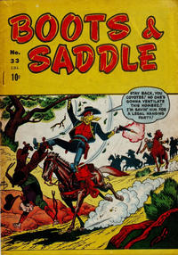 Cover Thumbnail for Boots & Saddle (Bell Features, 1951 series) #33