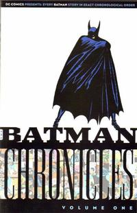 Cover Thumbnail for The Batman Chronicles (DC, 2005 series) #1 [First Printing]
