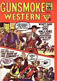 Cover Thumbnail for Gunsmoke Western (L. Miller & Son, 1955 series) #21