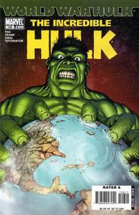 Cover for Incredible Hulk (Marvel, 2000 series) #106