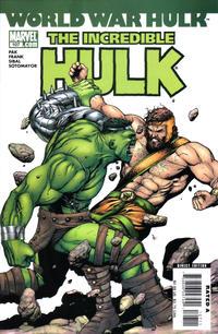 Cover Thumbnail for Incredible Hulk (Marvel, 2000 series) #107