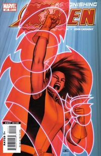 Cover Thumbnail for Astonishing X-Men (Marvel, 2004 series) #21 [Armor Cover]