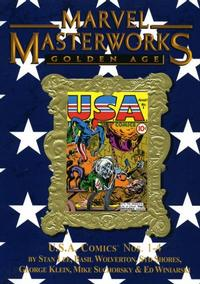 Cover Thumbnail for Marvel Masterworks: Golden Age U.S.A. Comics (Marvel, 2007 series) #1 (76) [Limited Variant Edition]
