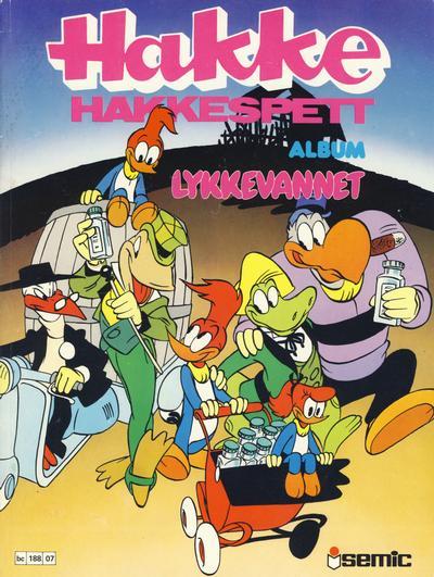 Cover for Hakke Hakkespett album (Semic, 1979 series) #07