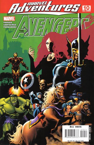 Cover for Marvel Adventures The Avengers (Marvel, 2006 series) #10