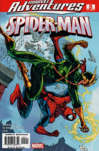 Cover for Marvel Adventures Spider-Man (Marvel, 2005 series) #5