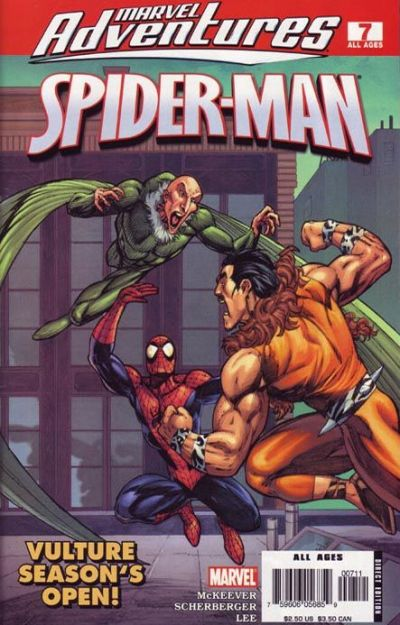 Cover for Marvel Adventures Spider-Man (Marvel, 2005 series) #7
