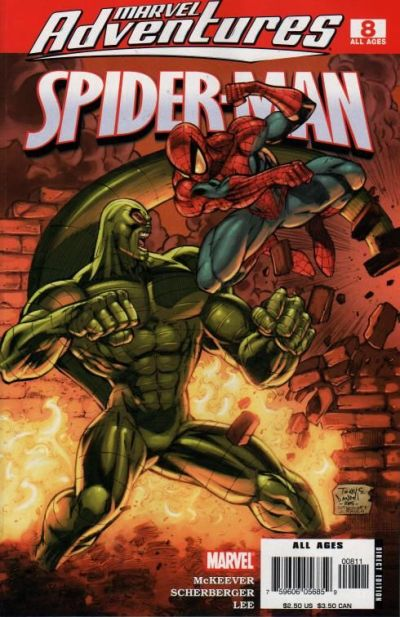 Cover for Marvel Adventures Spider-Man (Marvel, 2005 series) #8