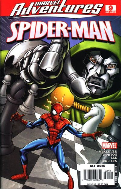 Cover for Marvel Adventures Spider-Man (Marvel, 2005 series) #9