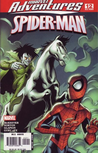 Cover for Marvel Adventures Spider-Man (Marvel, 2005 series) #12